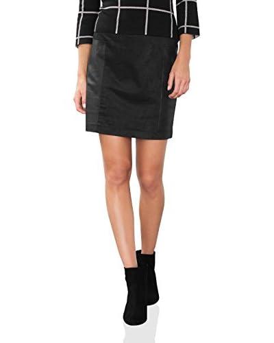ESPRIT Falda Negro