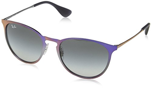 Image of Ray-Ban 0rb3539 Round Sunglasses, Shot Violet Metallic, 54 mm