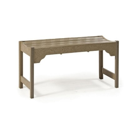 Astonishing Breezesta 36 Ridgeline Backless Bench Chocolate Machost Co Dining Chair Design Ideas Machostcouk