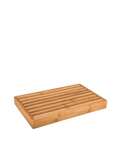 Danesco Natural Living Bread Cutting Board with Crumb Catcher