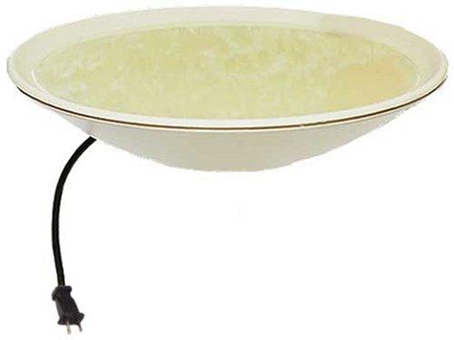 API 600 20-Inch Diameter Heated Bird Bath Bowl (no stand) (Heated Bird Baths compare prices)