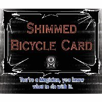 Shimmed Bicycle Card