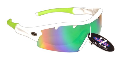 RayZor Professional Lightweight UV400 White Sports
