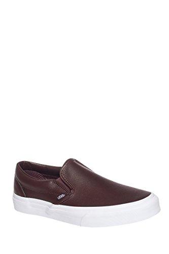 Men's Classic Slip-On Leather Sneaker