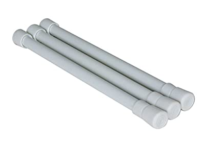 Camco 44063 RV Cupboard Bars - 3 pack