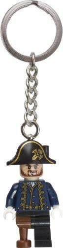 LEGO Pirates of the Caribbean Captain Hector Barbossa Key Chain 853189 - 1