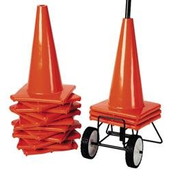 FLAGHOUSE 18 Orange Weighted Cone Super Set by adaptive sports