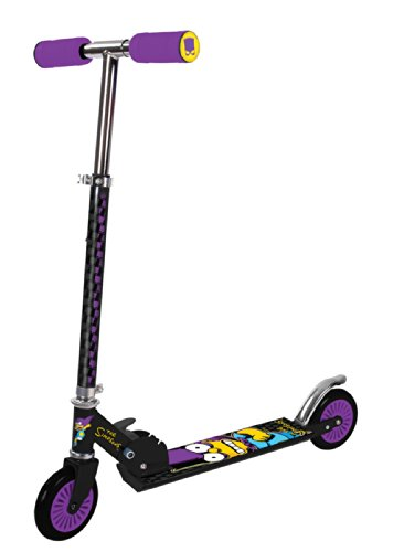 The Simpsons Bartman Folding Inline Scooter