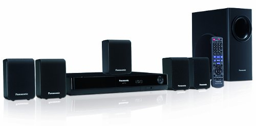 Panasonic SC-PT70EB-K 5.1 HDMI DVD Home Cinema System - Black
