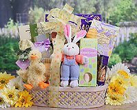 Easter Bunny and Duck (Gourmet,Wine Country Gift Baskets,Gourmet Food,Gourmet Gifts)