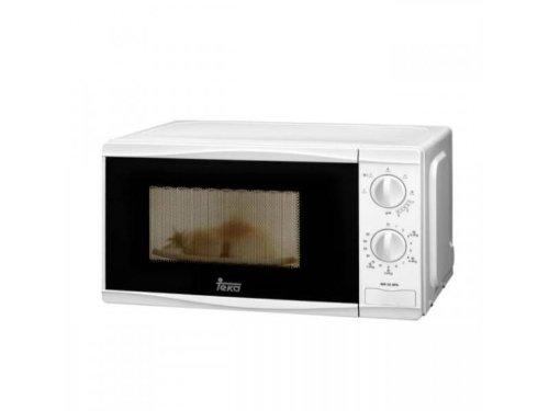 Teka MW20BFG - Microondas con grill, mecánico, descongelador por tiempo, 20 litros, 1050W/700 W, color blanco