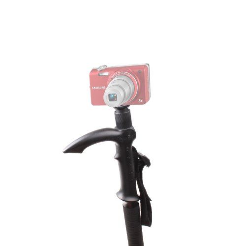 Extendable Walking Monopod With Compass For Samsung ST65, ES71, SH100 Compact Camera
