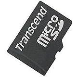 Transcend Micro SD 1GB Speicherkarte mit SD-Adapter