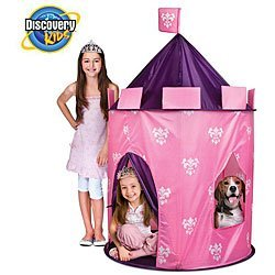 Discovery Kids Indoor/ Outdoor Princess Play Castle front-262690