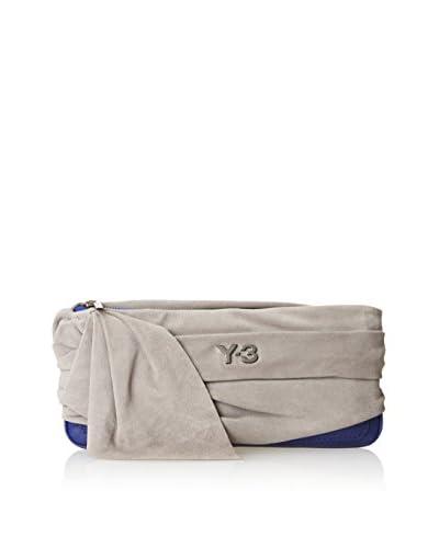 adidas Y-3 by Yohji Yamamoto Women's Nomad Clutch, Iron/Blue