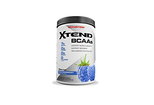 Details  Sugar-free blended BCAAs to support muscle synthesisEnhanced with glutamine, vitamin B6 and vital electrolytes for enhanced performance  Sugar-free Blended BCAAs to Support Muscle Synthesis  L-leucine, L-isoleucine, and L-valine in the ratio 2:1:1 help you stimulate and support protein synthesis and provide you with metabolic energy while you train without the weight of sugar that often comes with supplementation.  Enhanced with Glutamine, Vitamin B6 and Vital Electrolytes for Enhanced Performance Glutamine and vitamin B6 help you pack on lean mass by promoting muscle BCAA metabolism, and electrolytes helps you in optimizing cell hydration and muscle contractile function, thereby enhancing performance.  How to use  As a dietary supplement, mix one serving (one level scoop) of Scivation Xtend? per 8 ozs. of water. Stir or shake and consume during exercise on training days