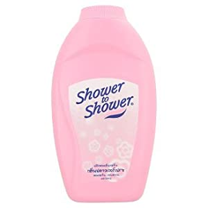amazon com shower to shower flower fresh scent powder