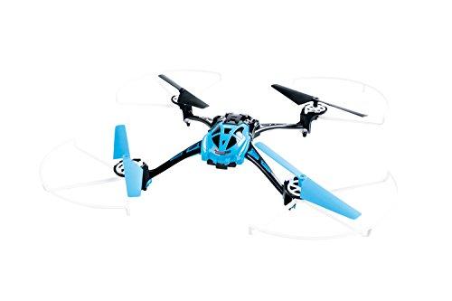 XciteRC-15014000-Ferngesteuerter-RC-Quadrocopter-Rocket-250-3D-4-Kanal-RTF-Drohne-mit-Kamera-blau