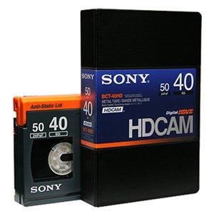 SONY  BCT-40HD  HDCAMテープ  スモールカセット  40分  10本セット