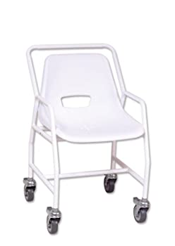 Fixed Height Mobile Shower Chair from NRS