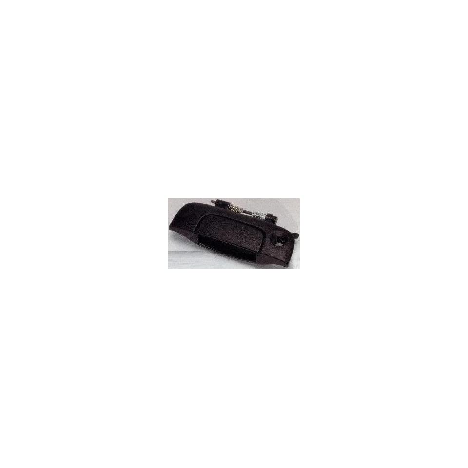 96 00 PLYMOUTH GRAND VOYAGER TAILGATE HANDLE VAN, Outer, Black (1996 96 1997 97 1998 98 1999 99 2000 00) D580703 4675772