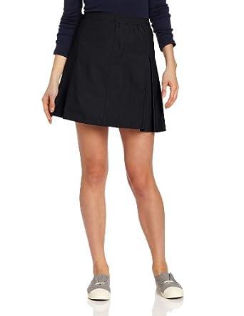 CLASSROOM Juniors Kick Pleat Skirt, Dark Navy, 9/10