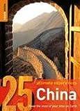 echange, troc Rough Guides - Rough Guides 25 Ultimate Experiences China