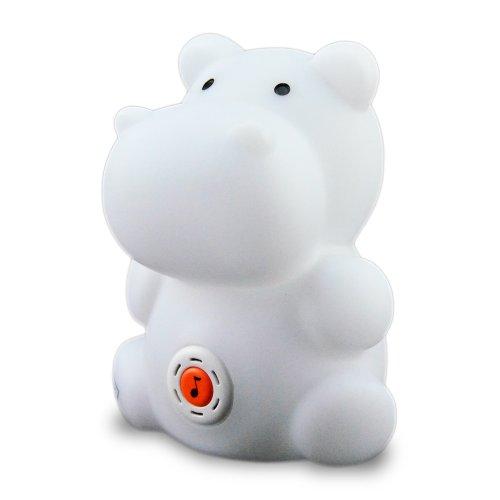 Twinkie's Animal Design Lullaby Multi Color Night Light Happy Hippo