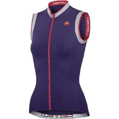 Buy Low Price Castelli 2012 Women's Perla FZ Sleeveless Cycling Jersey – A11030 (B00773I424)
