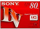 SONY DVM80RM3 ミニDVカセット