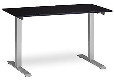 Multitable Electric Standing Desk with 24x48 Desktop - Electric Adjustable Height Desk, Standing Electric Desk, Sit Stant Desk, Electric Sit Stand Desk, Motorized Adjustable Desk, Silver Mod-e