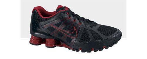 Nike Shox NZ Agent+ 438684-005 Schwarz-Rot Größe 39 / US 6,5 / UK 6 / 24,5 cm