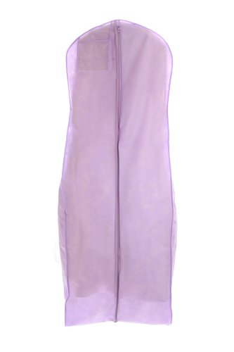 light purple wedding gown travel storage garment bag by bags for