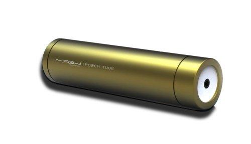 SP2200-GD PowerTube 2200 mobiler Ersatzakku passend für Smartphones  MP3-Player und Navigationsgeräte  2200mAh  gold