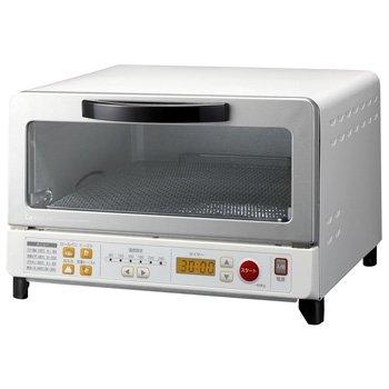 KOIZUMI 【ビック&ワイド庫内タイプ】オーブントースター ホワイト KOS-1230/W