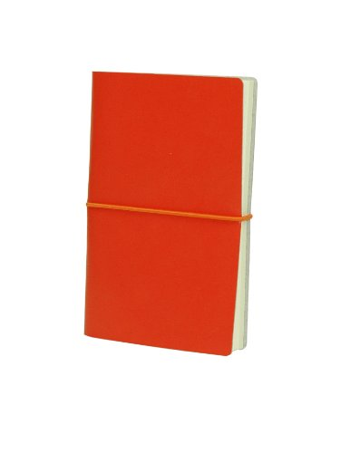 paperthinks-torrid-orange-memo-pocket-recycled-leather-notebook-35-x-6-inches-pt92283