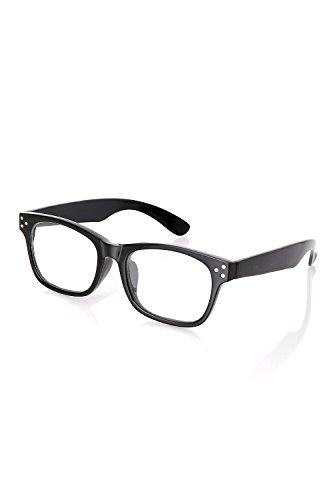 (リピード) REPIDO メガネ メンズ 眼鏡 めがね 伊達 ダテ セルフレーム メタルパーツ スクエア型 クリアレンズ ゴールドデミ/クリアー