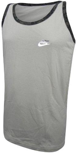 Nike Athletic Top Vest Sleeveless Tshirt Khaki