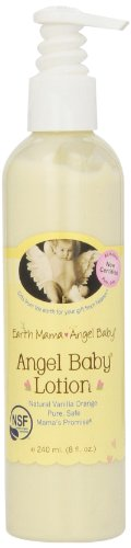 Earth Mama Angel Baby Angel Baby Lotion, 8-Ounce Bottle image