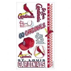 St. Louis Cardinals Temporary Tattoos by WinCraft