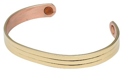 Sabona Gold Classic Copper Magnetic Bracelet, Size S