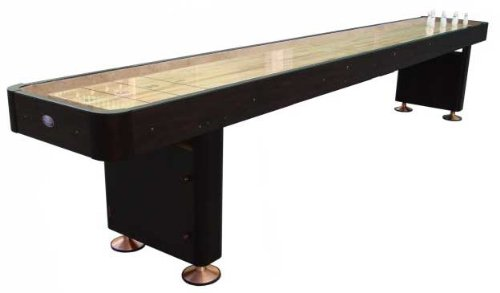 Playcraft Woodbridge 12 Foot Espresso Finish Shuffleboard Table