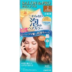 サロンドプロ ワンプッシュ泡のヘアカラー 2