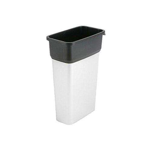 Vileda Professional 137661 GEO Metallic Trash Can Large 70L (case of 4) (70 Liter Container compare prices)