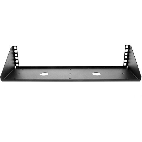V Rack, 2U - Hinged Center Plate Paralleled Shallow Rack Shelf Wall Mount (Topeak Hummer compare prices)