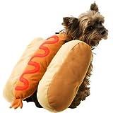 Dog Pet Hot Dog Hotdog Costume XXS 6-8
