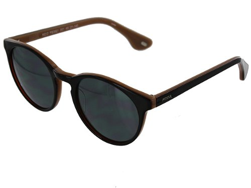 Women's Fossil Reid Black Sunglasses