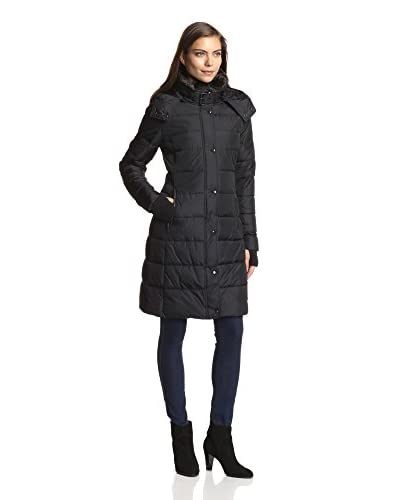 S13/NYC Women's Bowery Long Quilted Puffer Coat