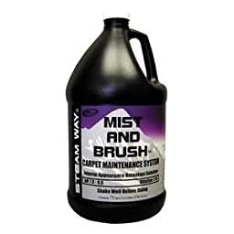 Steamway International - Mist and Brush - Carpet Maintenance System - 1 Gallon - 8751000