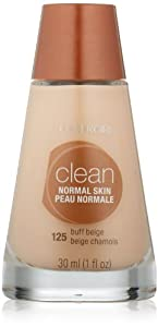 CoverGirl Clean Liquid Makeup, Buff Beige (W) 125, 1.0-Ounce Bottles (Pack of 2)